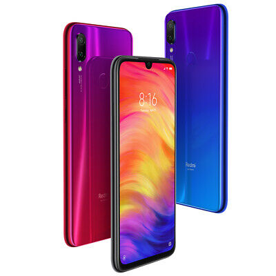 "Xiaomi Redmi Note 7 4GB 64GB Smartphone Global Version(EU) 6.3"" Screen 4000mAh"