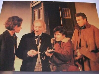 Doctor Who Postcard Dr William Hartnell Tardis Classic William Russell Aztecs