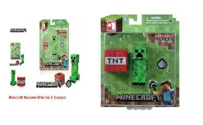 Minecraft Creeper Figure Series #1 Overworld Fully Articulated New Sealed