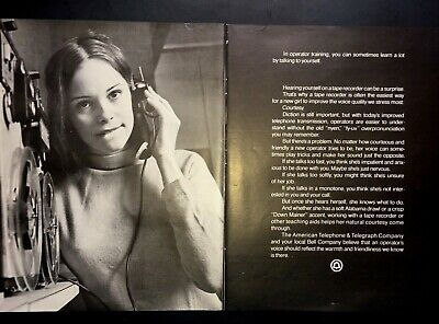 Life Magazine Ad AMERICAN TELEPHONE & TELEGRAPH Company and Bell Company 1971 AD