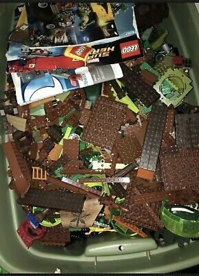 LEGO Lot 10 pounds ten LB Bulk Lot Cleaned Sanitized Bricks +  assorted pieces
