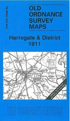 Harrogate e District 1911: One Pollici Foglio 62 (Old Ordnance Survey Maps -