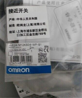 Omron E2A-M12KS04-WP-B1 E2AM12KS04WPB1 yc