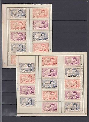 French colonies 1930s MH stamps on pages (CV $320 EUR286)