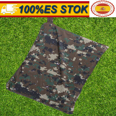 Impermeable Us Army Con Capucha Ripstop Festival Lluvia Poncho Militar Camping