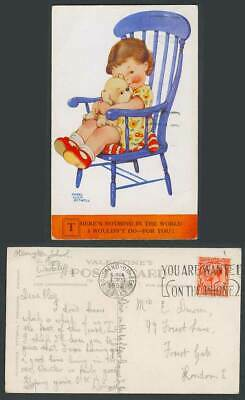 MABEL LUCIE ATTWELL 1932 Old Postcard Dog. Nothing I Wouldn't Do - For You! 2136