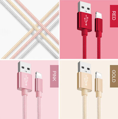 Apple iPhone iPad Lightning Charging Cable Heavy Duty Fast Charge Data Cable
