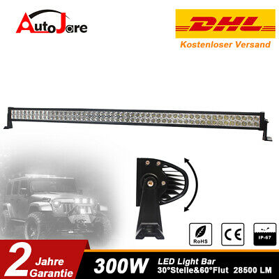 52inch 300W LED Lichtbalke LED Light Bar Offroad Driving Lamp for Jeep SUV Truck