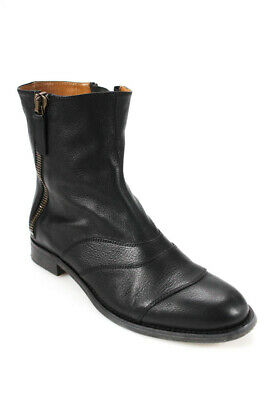 d62519cb7d6 SEE BY CHLOE Katerina Black Leather Knee High & Fold Over Boots 39.5 ...