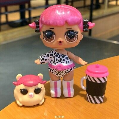 Rare LOL Surprise Doll CHERRY GLAM GLITTER Series 2 & Pet Toy Girl Gifts