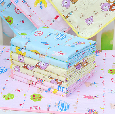Changing Pad Cotton Baby Infant Travel Home Cover Waterproof Urine Trend