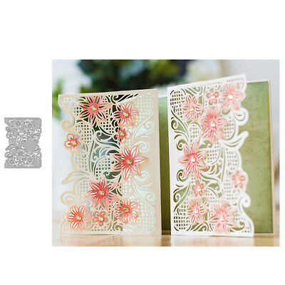 Flower Frame Metal Cutting Dies Diy Scrapbook Greeting Paper Cards Album Stencil