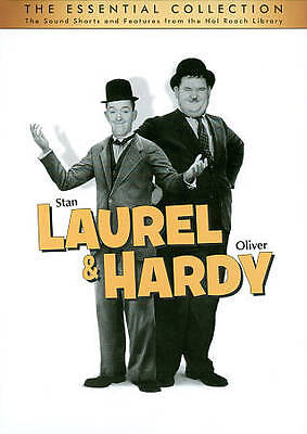 Laurel & Hardy: The Essential Collection (DVD, 2011, 10-Disc Set) Free Ship USA