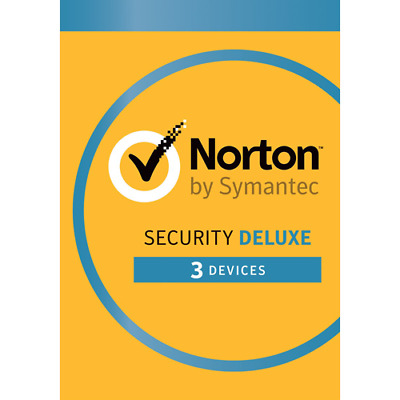 Norton Security Deluxe 2019 3 Devices 1 Year - Internet Security EMAIL Delivery