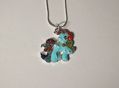 MY LITTLE PONY Inspired Large Charm Gift NECKLACE  RAINBOW DASH Unwanted