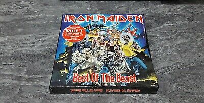 Iron Maiden Best of the Beast 2CD Box Set Book Edition Japan TOCP-50005.6 RARE