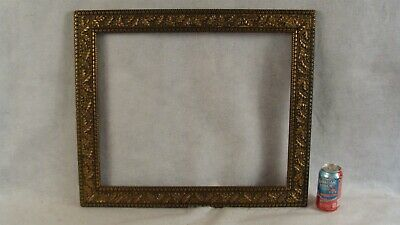 Antique Carved Oak Leaf & Acorn Picture Frame Holds 20 5/8 x 16 5/8