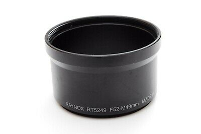 【Excellent】RAYNOX RT5249 F52-M49mm Lens Adapter From Japan #48