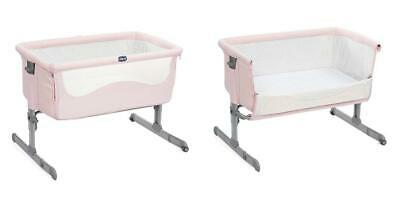Chicco 08079339390000 Next2Me Culla, 0m+, Rosa, Rosa (French Rose)