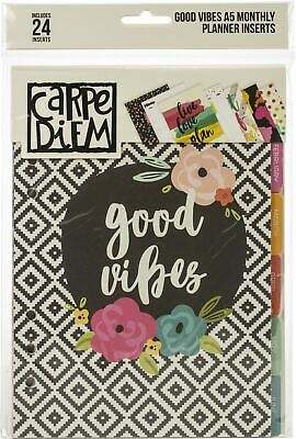 Carpe Diem Faith Double-Sided Personal Planner Inserts-Monthly Undated