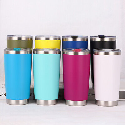 600ML Travel Mug Tea Coffee Water Vacuum Thermos Cup Bottle Stainless Steel AU