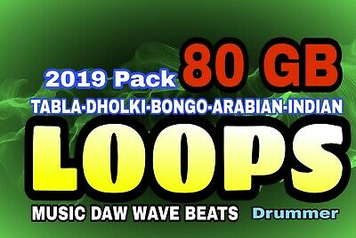 80 Gb Indian Beats Wave Loops Cinematic & Indian Instruments Proffessional