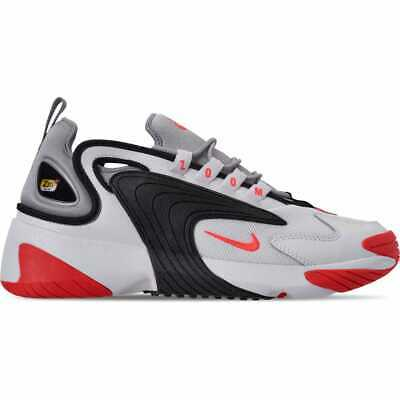 new arrival d14c8 0f76f Men s Nike Zoom 2K Casual Shoes White Infrared 23 Wolf Grey Black AO0269