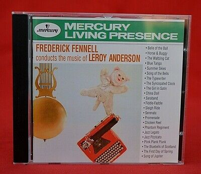 Mercury Living Presence:  Frederick Fennell Conducts Music Of Leroy Anderson Cd!