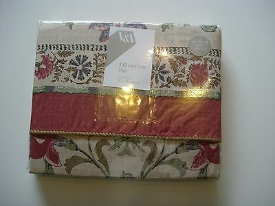 Bedding Pillow Cases Frette Roma Pair Of Housewife Pillowcases 280 Tc Ivory Bnip