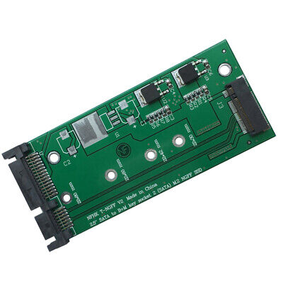 M.2 to SATA Adapter Card NGFF SSD to SATA 3 Support B Key Converter Module