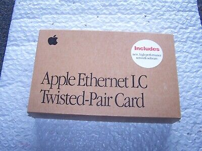 Vintage Dayna E//LC-T DaynaPort Nubus Ethernet Card for Apple Macintosh 10302-01