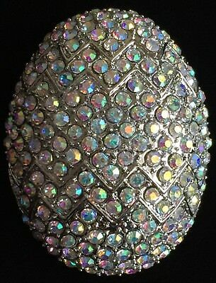 Ab Silver Rhinestone Duck Duckling Chick Chicken Easter Egg Pin Brooch Jewelry To Assure Years Of Trouble-Free Service Pins & Brooches
