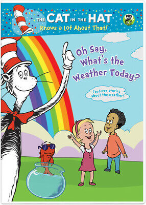 The Cat in the Hat Knows a Lot About That Oh Say Whats Weather Today DVD NEW