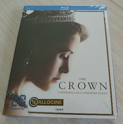 Coffret Blu Ray The Crown L'integrale De La Premiere Saison Neuf