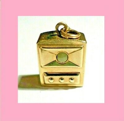 "RARE Antique 14K GOLD Camera ""See Pictures Inside"" Hallmark 14K  2.97 grams"