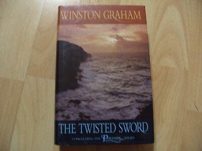 The Twisted Sword Graham Winston Hardback Book concluding poldark Rare - 356
