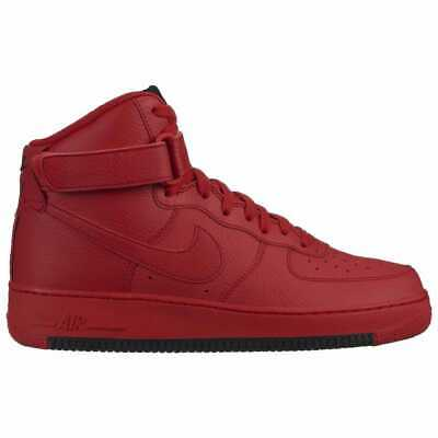 Nike Air Force 1 High Red/Red/Black Men's O2440600