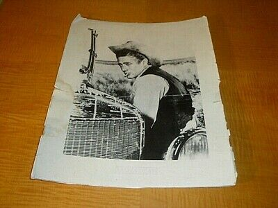 Vintage Original James Dean Giant Poster $25