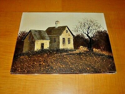 Original Oil Painting On Canvas Of Old Cabin In The Woods Buy It Now $35