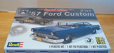 Ford 1957 Custom 2 Door Sedan 1:25 scale Revell Model kit Hobby Time Model Shop