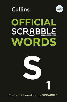 Collins Official Scrabble Words: The Official, Comprehensive Word List for Scrab