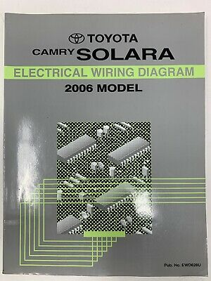 2006 toyota camry solara electrical wiring diagram repair manual