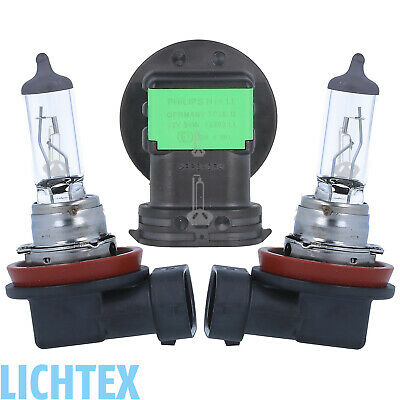 H11 PHILIPS LongLife EcoVision Scheinwerfer Lampe DUO-Pack B-Ware