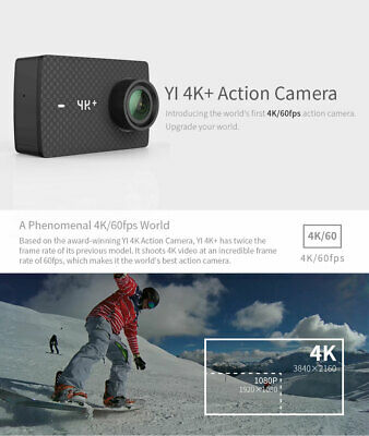 YI 4 K + (Plus) action Kamera Internationale Ausgabe ERSTE 4 K/60fps Amba H2 SOC