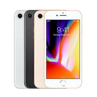 Apple iPhone 8 64GB Space Gray, Silver, Gold Unlocked Smartphone Good Condition