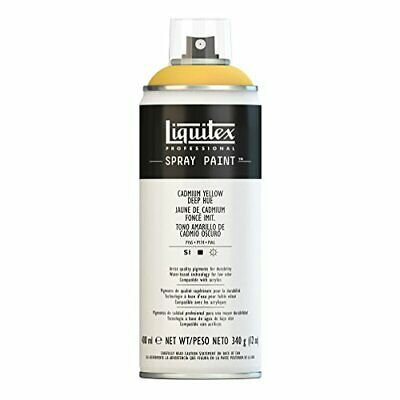 Liquitex Professional - Acrílico en spray, 400ml(Amarillo Cadmio Oscuro)