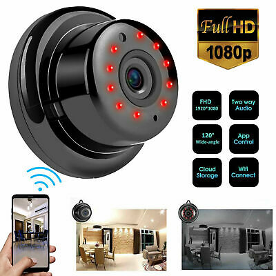 Mini Wireless 1080P HD WIFI IP Camera Smart Home Security Cam Night Vision TOP