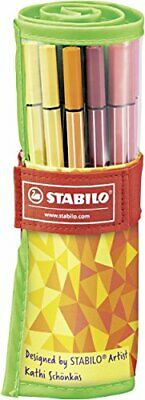 Premium-Filzstift - STABILO Pen 68 - 25er Rollerset Fan Edition - 2(Single)