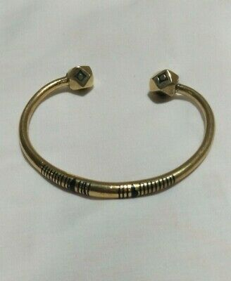 Ancient Viking BRACELET BRONZE Rare Vintage Artifact Stunning Extremely OLD