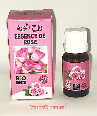 Essence de la rose de Damas Bio 10ml - Essence of Damask Rose Organic 10ml
